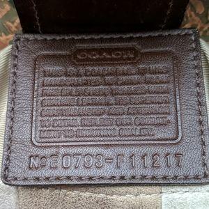 Genuine coach patchwork hobo purse handbag vintage